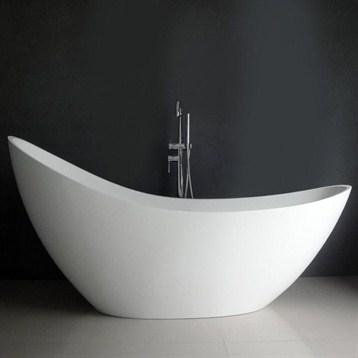 """Debbi 74"""" Soaking Bathtub"""