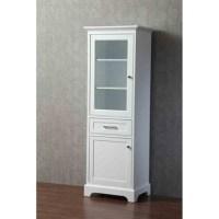 Stufurhome Morgan 24 Inch Linen Cabinet - White | Free ...