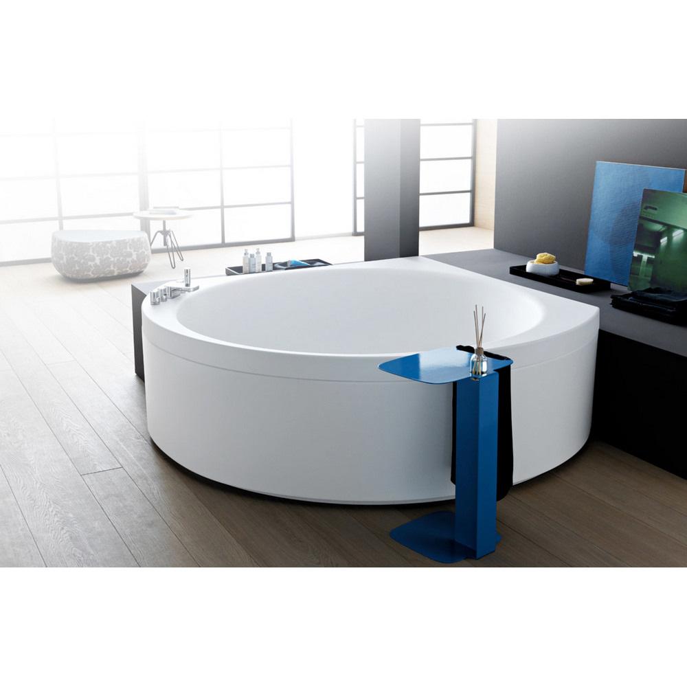 Aquatica Suri Wht Relax Air Massage VelveX Bathtub Matte White Free Shipping Modern Bathroom