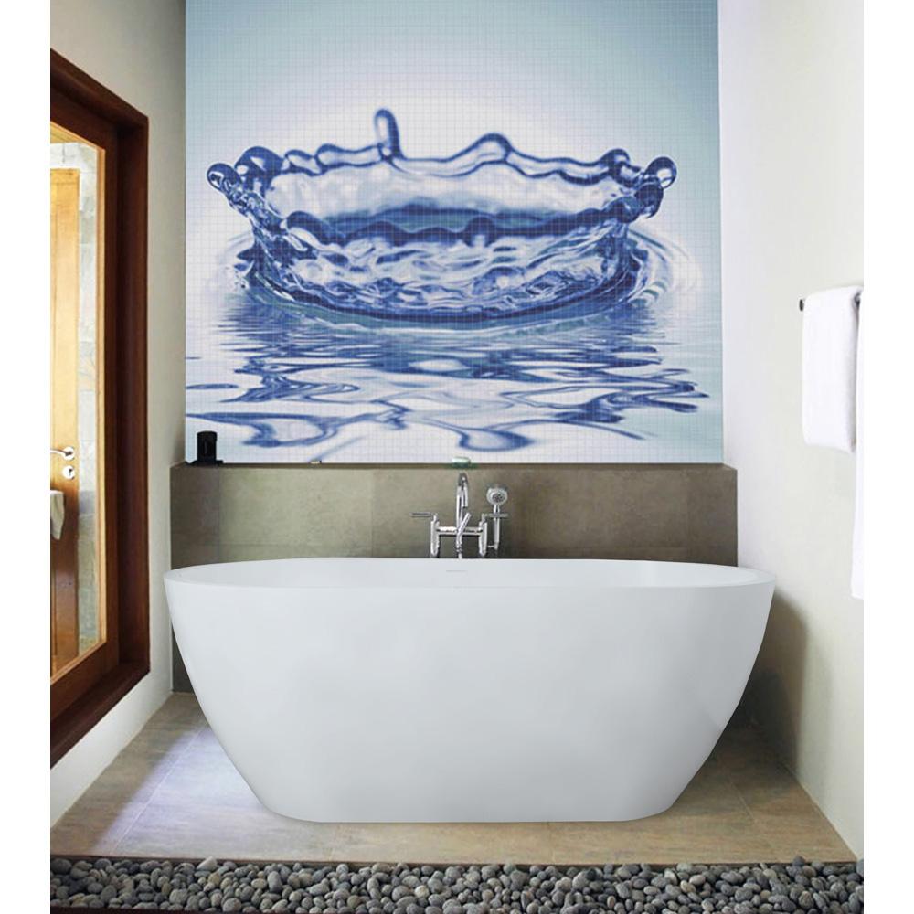 Aquatica PureScape 617 Freestanding AquaStone Bathtub Free Shipping Modern Bathroom