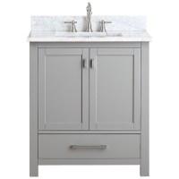 "Avanity Modero 30"" Single Bathroom Vanity - Chilled Gray ..."