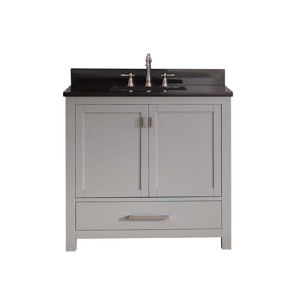 Avanity Modero 36 Single Bathroom Vanity  Chilled Gray