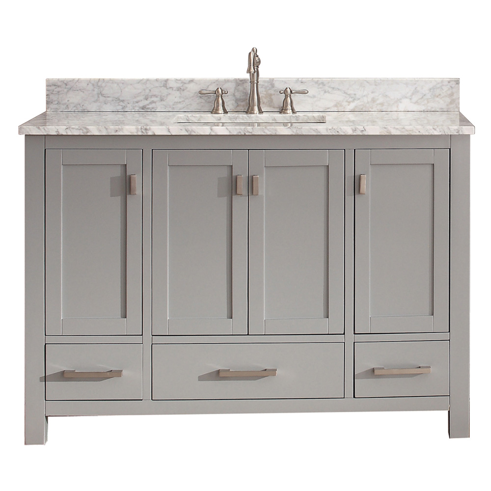 Avanity Modero 48 Single Bathroom Vanity  Chilled Gray