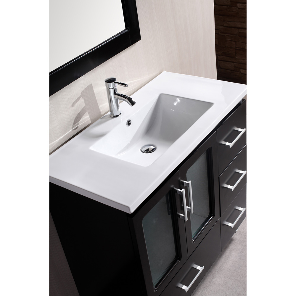 Design Element Stanton 36 Bathroom Vanity  Espresso