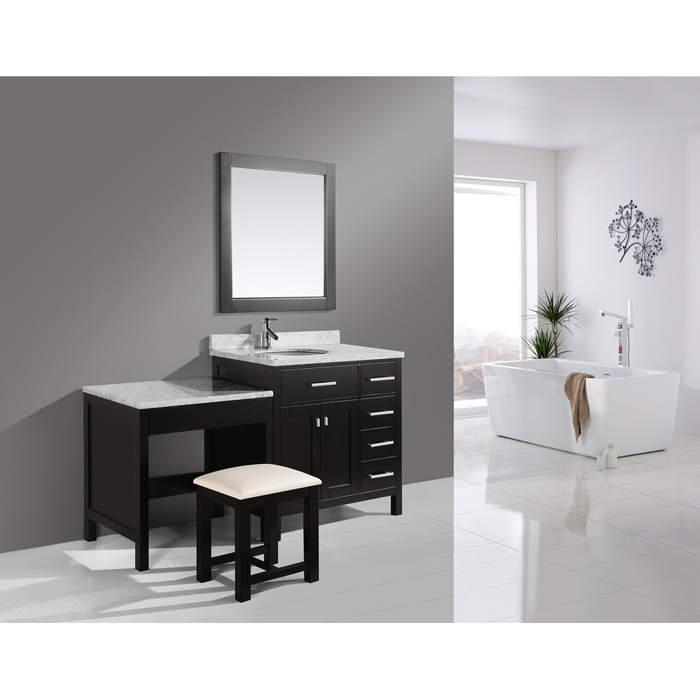 Design Element London 36 Vanity Set with Makeup Table
