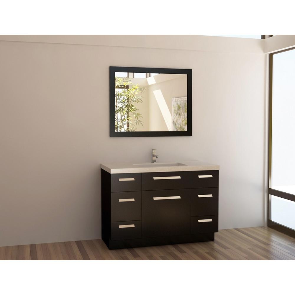 "Design Element Moscony 48"" Single Sink Vanity Set ..."
