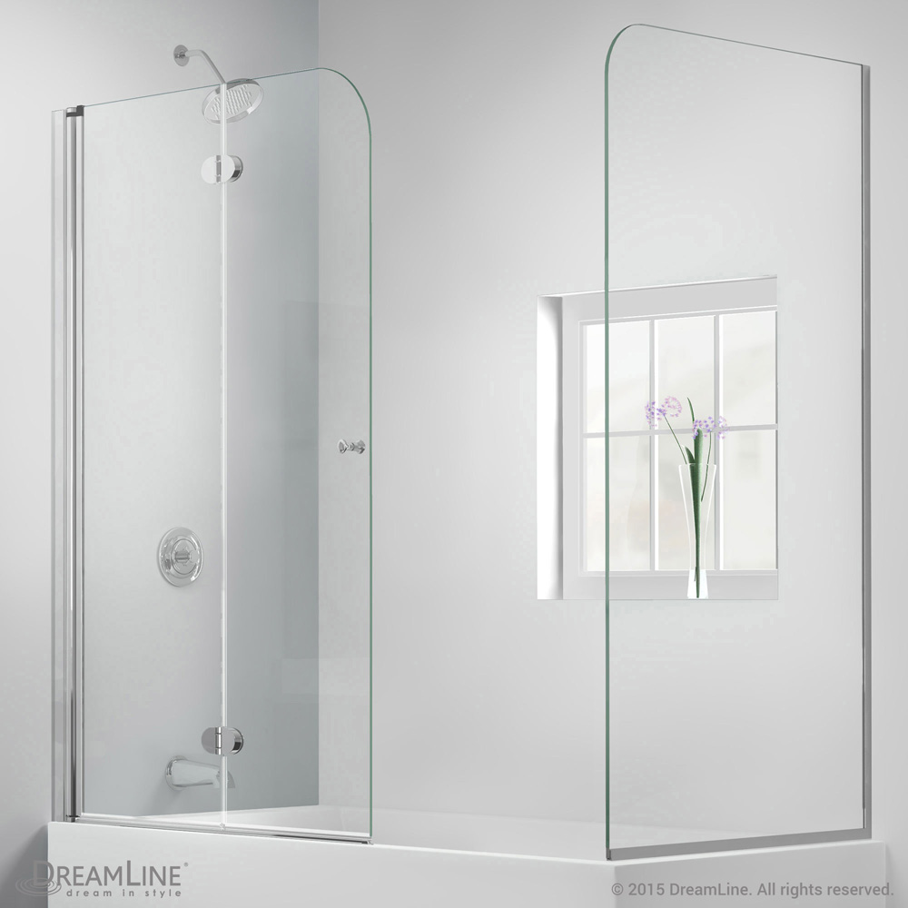 Bath Authority DreamLine AquaFold Hinged Tub Door 56 60