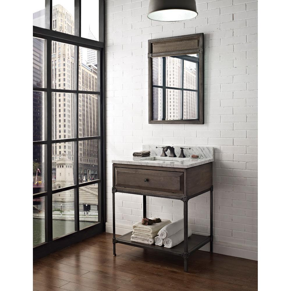 Fairmont Designs 30 Toledo Open Shelf Vanity  Driftwood