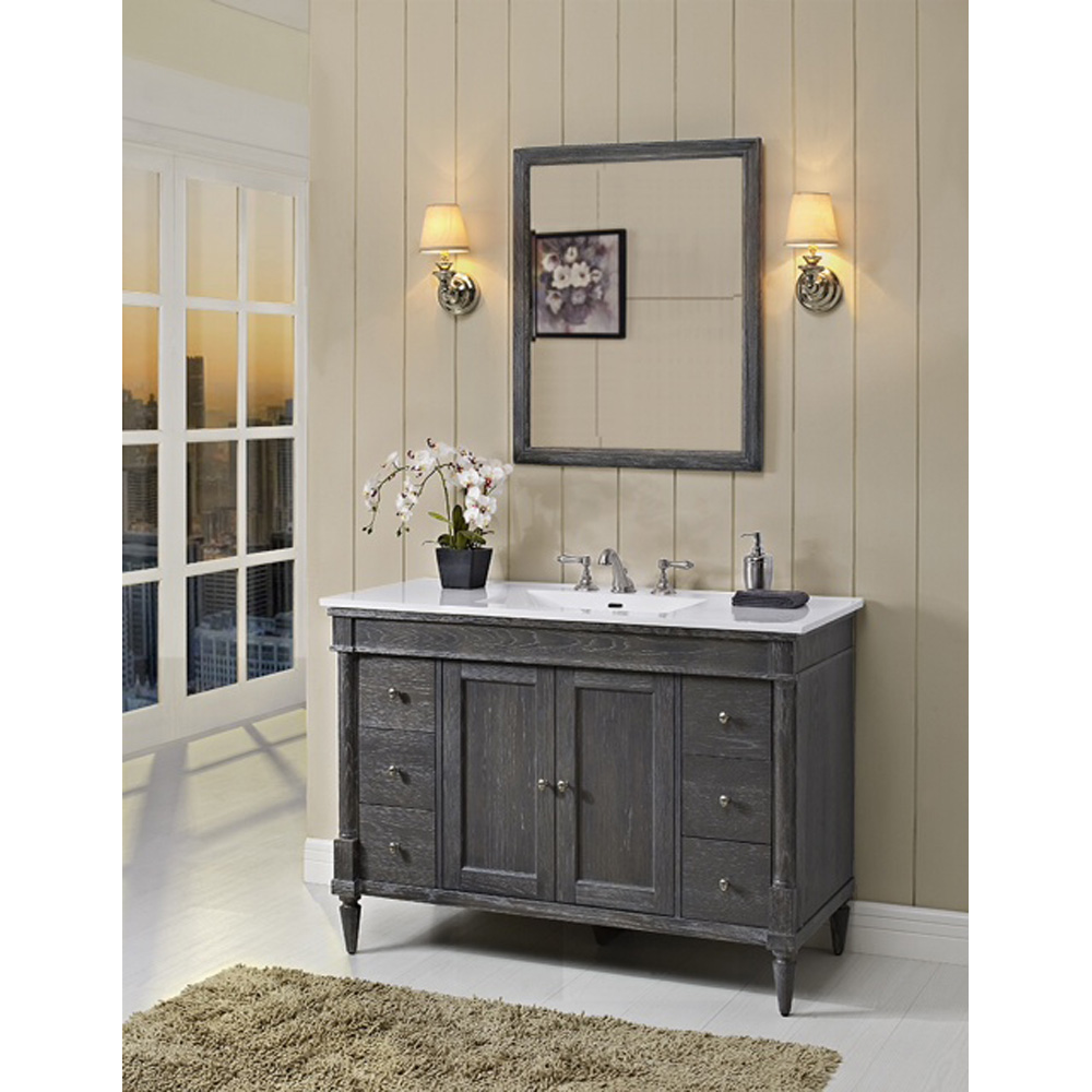 Fairmont Designs Rustic Chic 48 Vanity for Integrated Top
