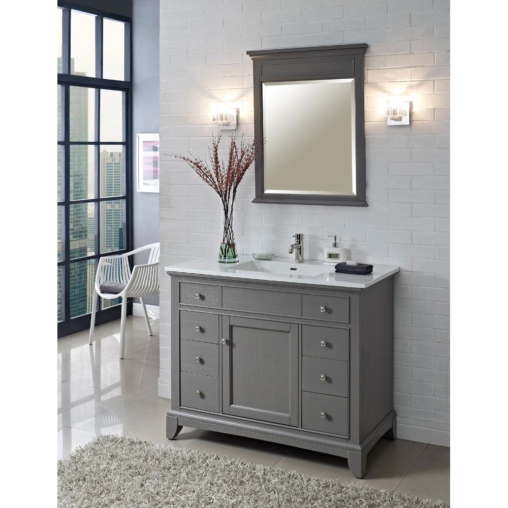 Fairmont Designs 42 Smithfield Vanity  Medium Gray