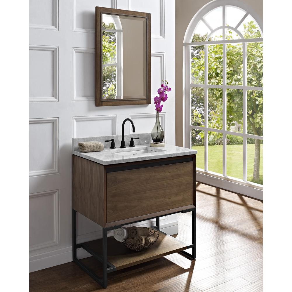 Fairmont Designs M4 36 Vanity  Natural Walnut  Free