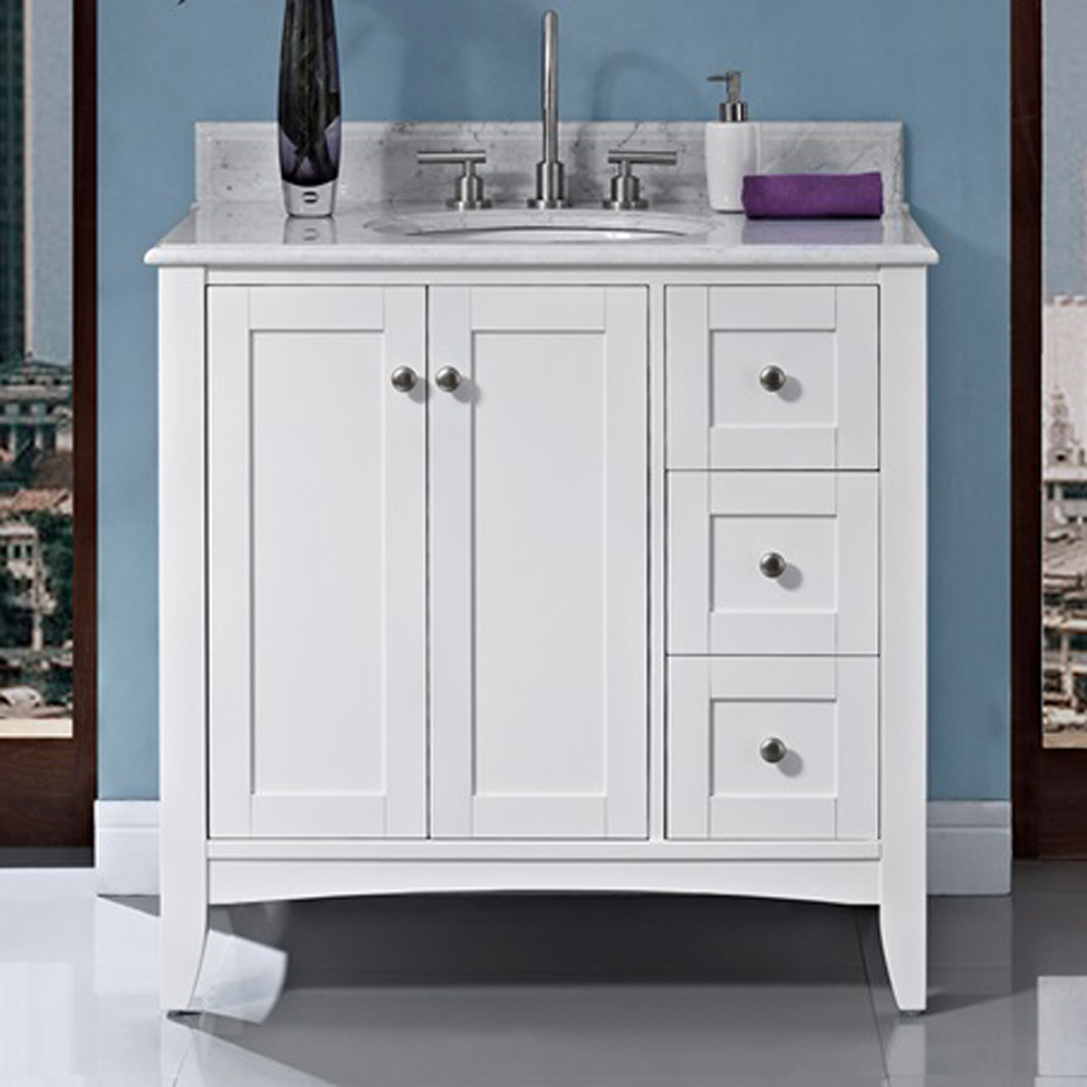 Fairmont Designs Shaker Americana 36 Vanity Drawerright