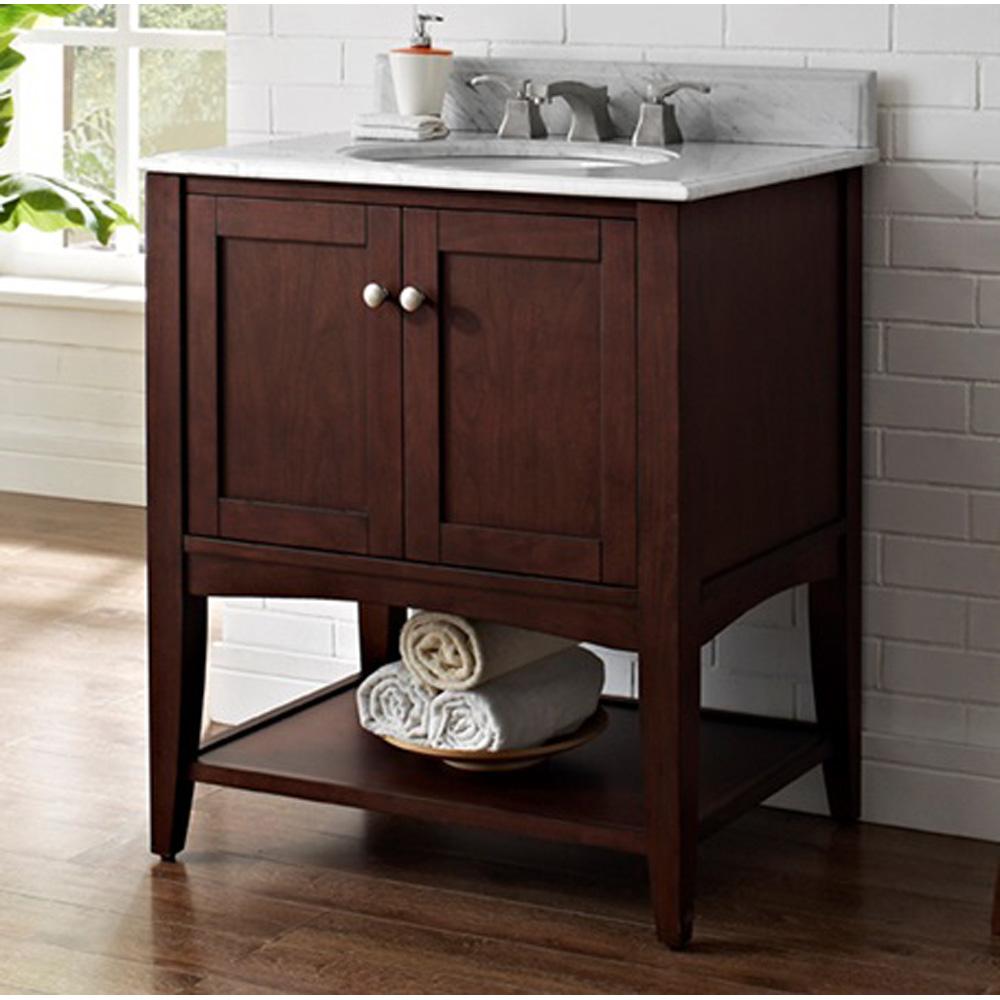 Fairmont Designs Shaker Americana 30 Vanity  Open Shelf