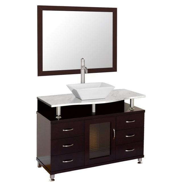 "Accara 42"" Bathroom Vanity with Drawers - Espresso w ... on {keyword}"