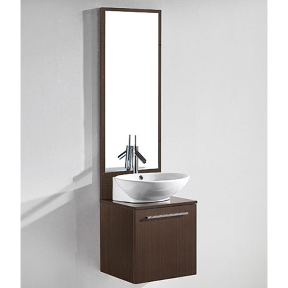 Madeli Alassio 18 Bathroom Vanity  Walnut  Free