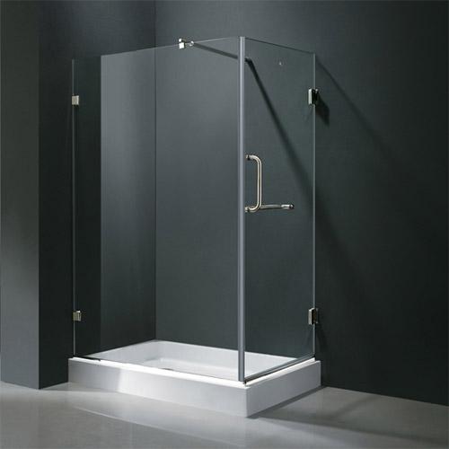 Vigo Industries Frameless Rectangular Shower Enclosure 36 X 48 Free Shipping Modern Bathroom