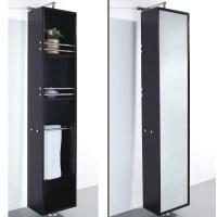 Barcelona Rotating Storage Cabinet - Espresso | Free ...