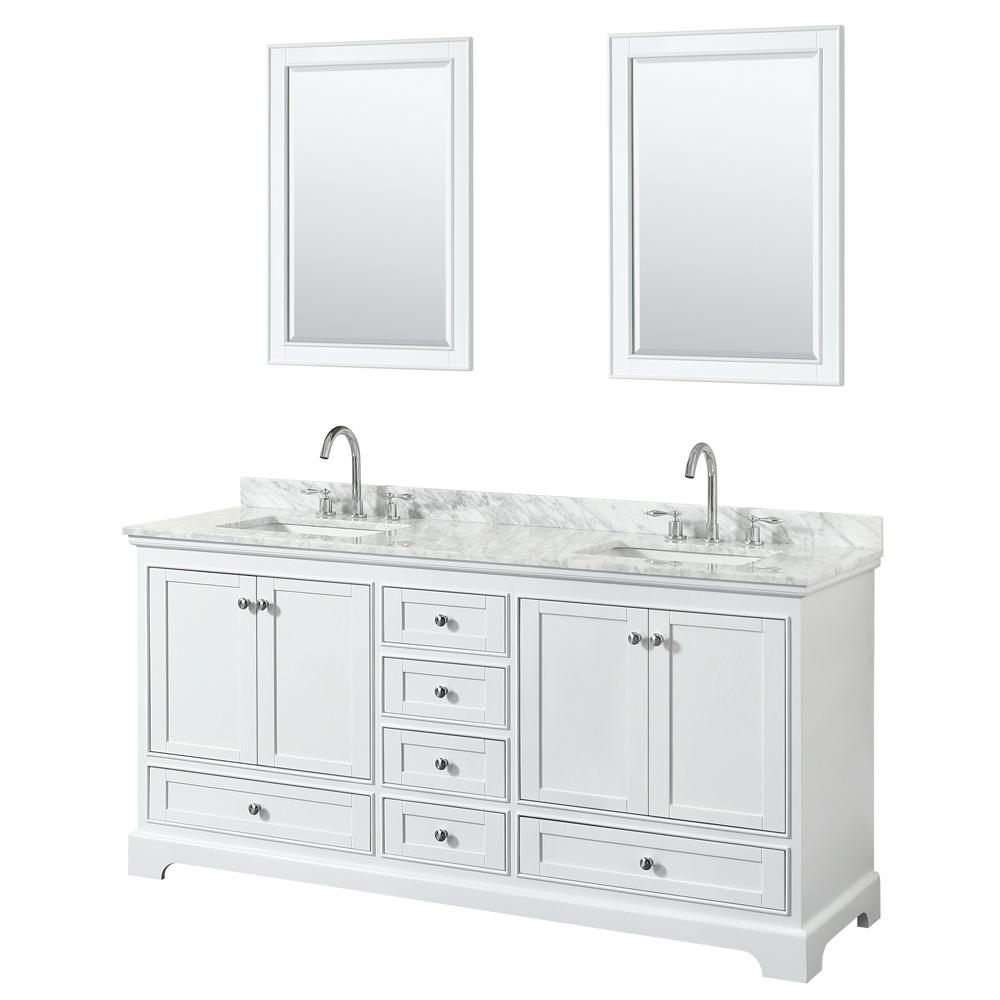 Deborah 72 Double Bathroom Vanity by Wyndham Collection