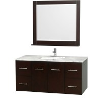 """Centra 48"""" Single Bathroom Vanity for Undermount Sinks by ..."""