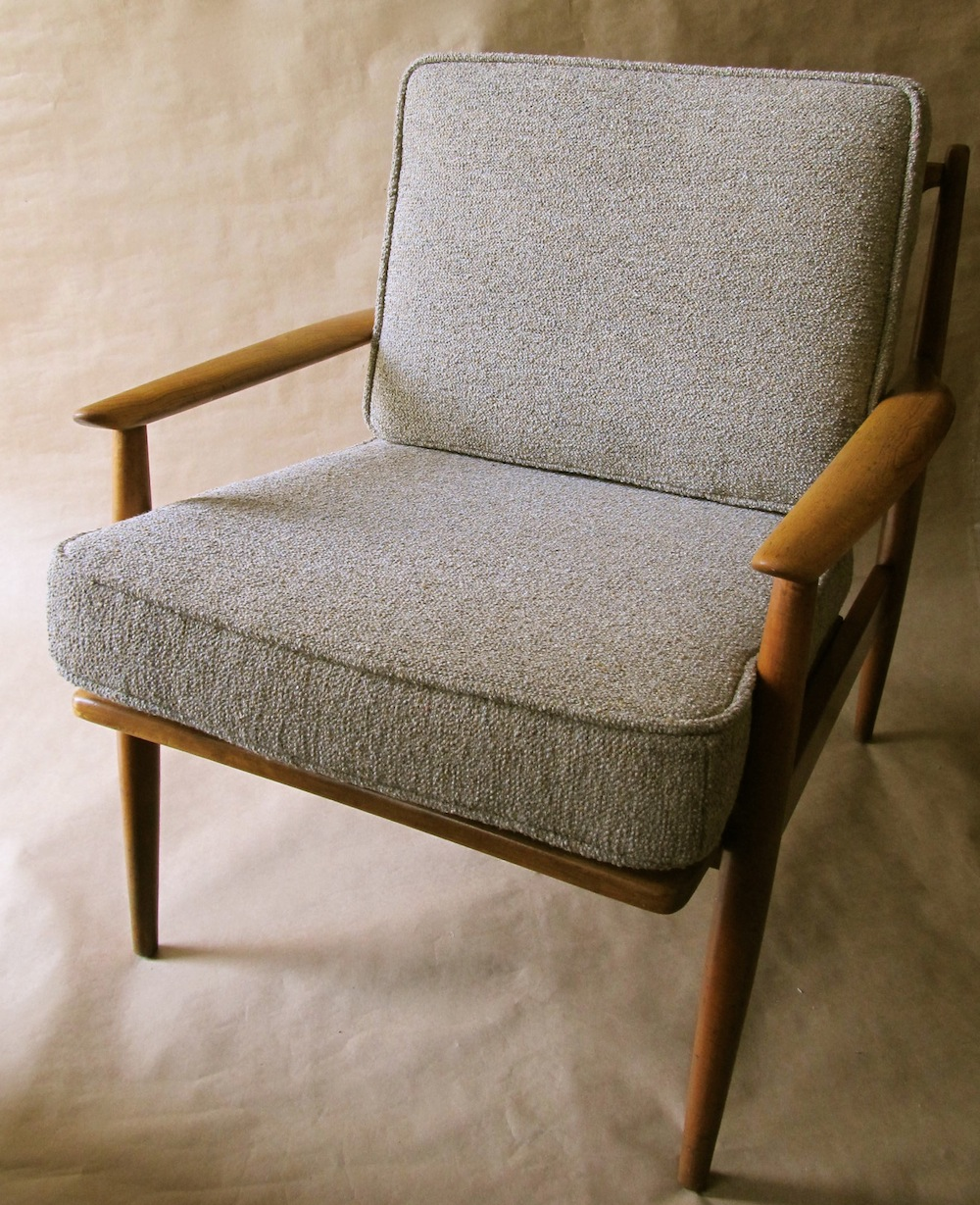 Danish Modern lounge chair  Modern Chair Restoration