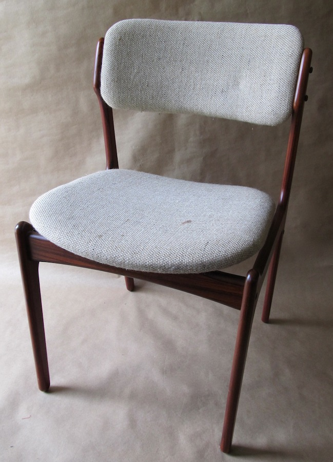 erik buck chairs christmas chair covers white buch dining model 49 modern restoration these