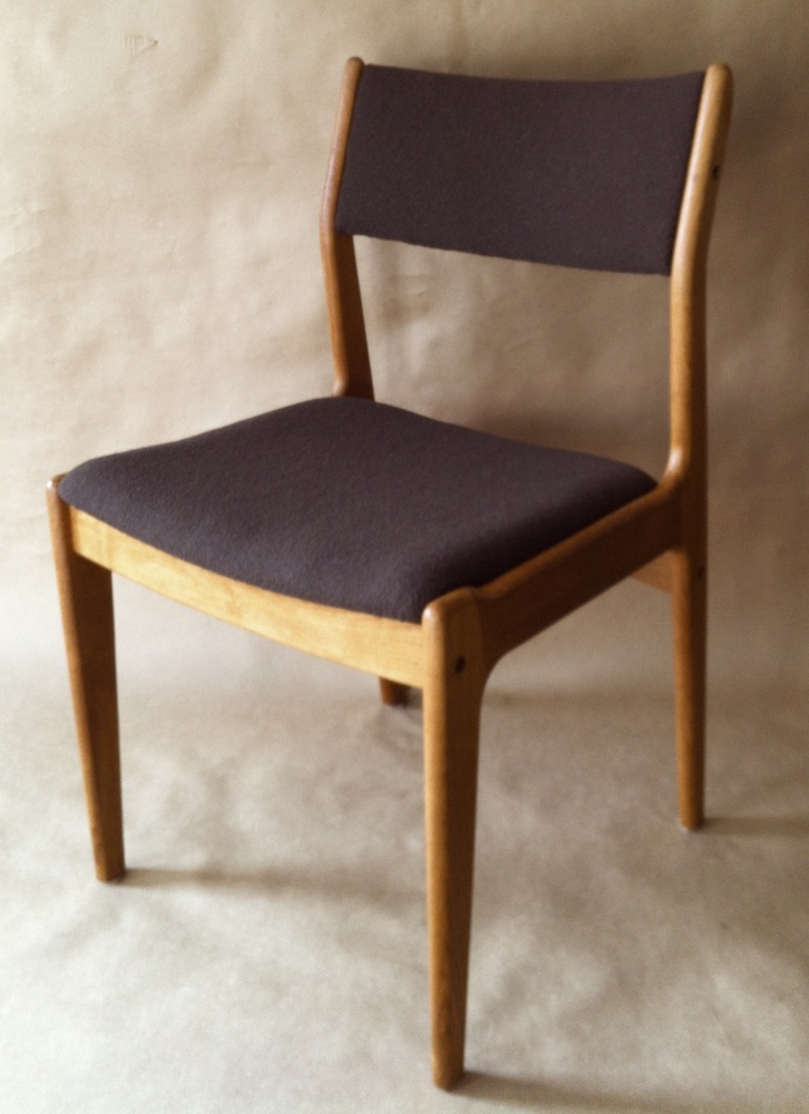 Danish Modern teak dining chairs  Modern Chair Restoration