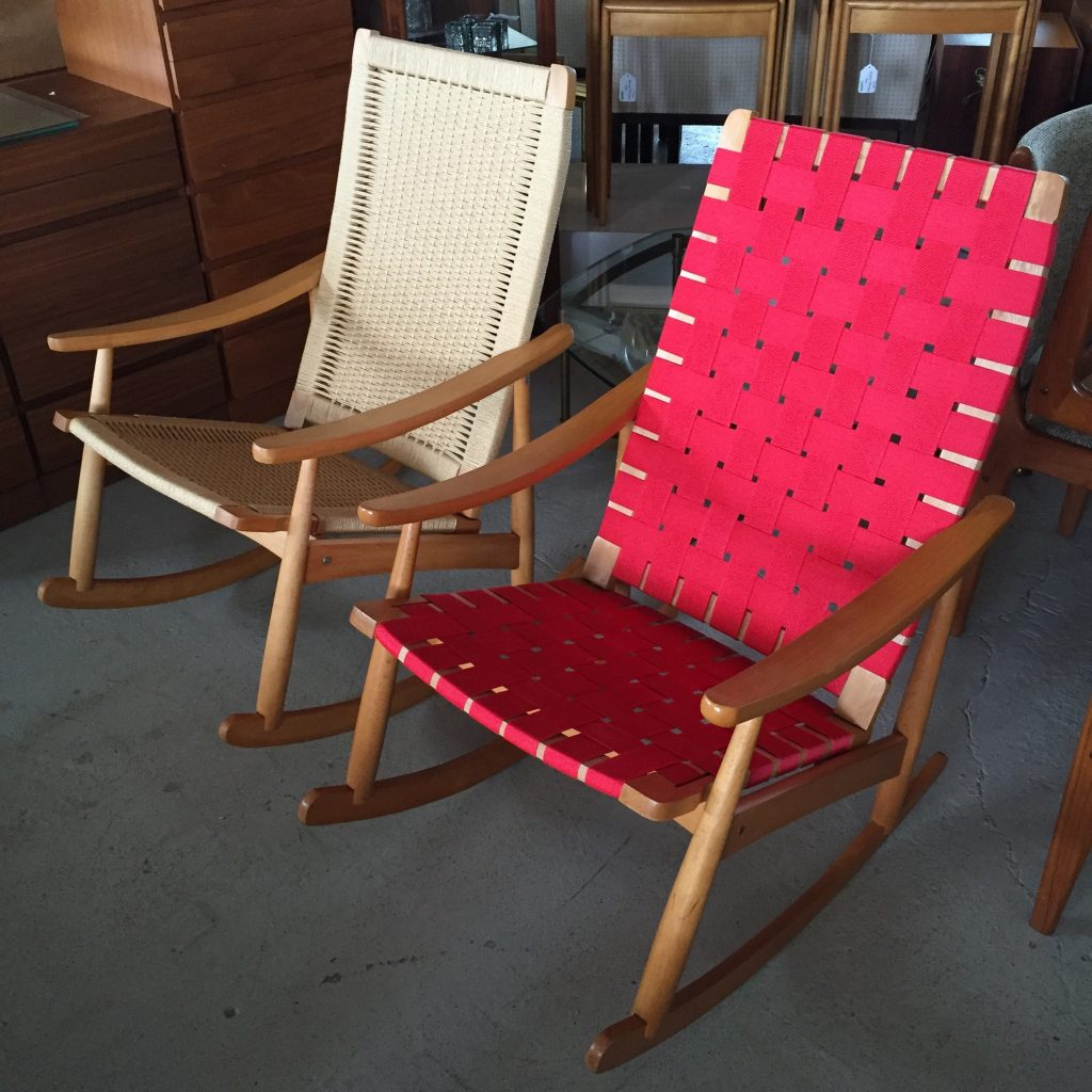 yugoslavian folding chair rubber pads modern restoration