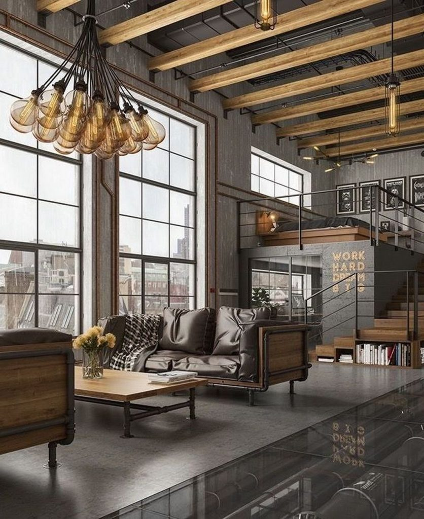 5 Ideas For Decorating The Interior With Industrial Style Luminaires Modern Chandeliers