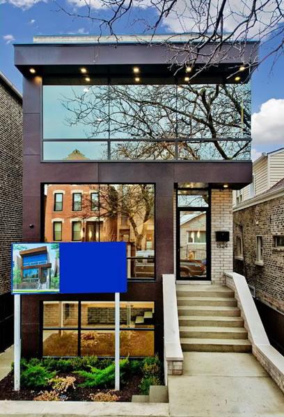 1524 N Wood  Wicker Park  Modern Chicago Homes