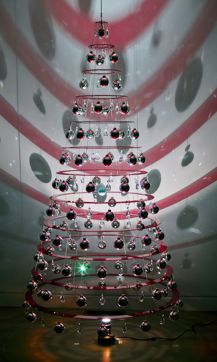 75ft Decorated Hanging Tree PreOrder  Modern Christmas