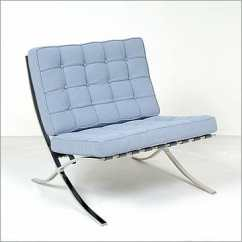 Mies Van Der Rohe Barcelona Chair Exercise Ball Posture Fabric Exhibition Inspired By