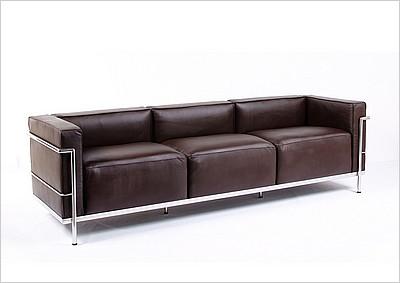 lc3 sofa brands international sold le corbusier grande modernclassics com style