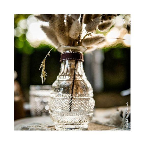 vase verre ancien modern confetti