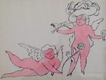 Andy Warhol, fairies, flowers and frolics