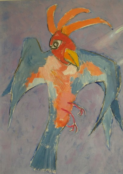 Barbara Karn, Blue Parakeet