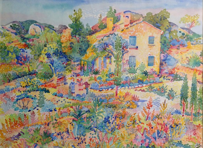 Fred Yates, French Country Garden