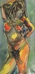 Angela Lyle, Standing Nude