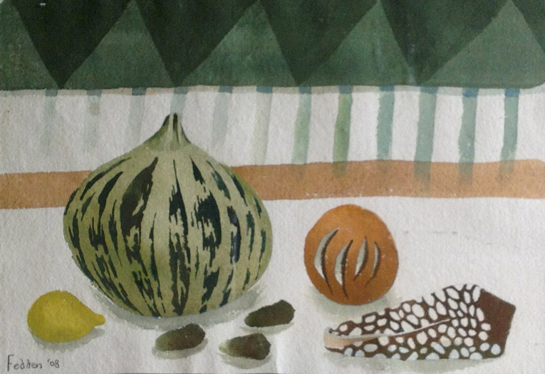 Mary Fedden, Harlequin