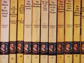 nancyDREWBooks
