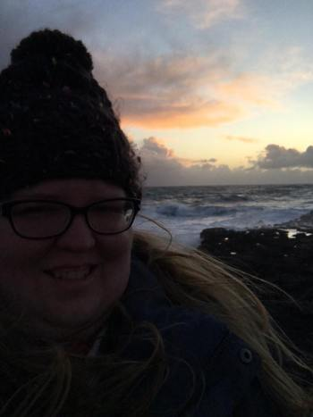 Tabitha in Iceland