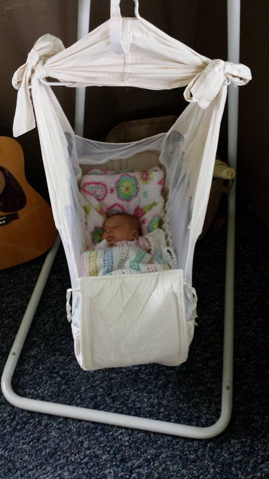 you don't need a lot of stuff for baby
