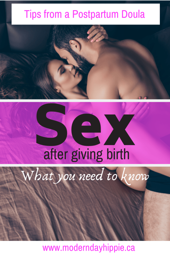 You've been waiting a long time to have sex after giving birth, but there are a few things you need to know before you get back to it!