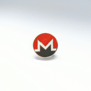 Monero Pin Badge