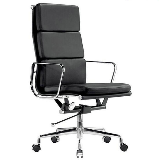 black leather desk chairs ikea patrik chair white office red color china high back executive