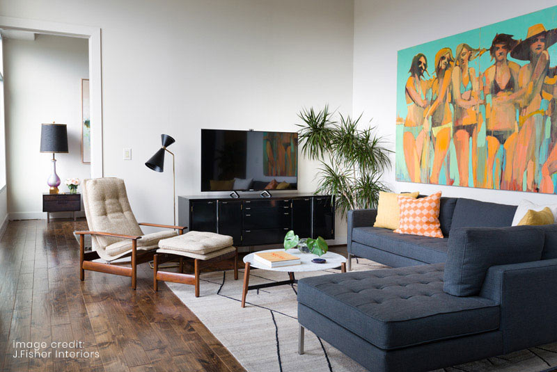white modern living room townhouse design 8 ideas for your digs jennifer fisher of j interiors says the most important thing me is walls all about creating visual interest through
