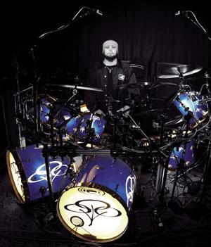 drummer John Otto of Limp Bizkit