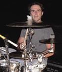 drummer Brendan Hill of Blue's Traveler