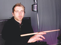 Drummer Neil Sanderson of Three Days Grace
