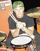 drummer Chris Knapp of The Ataris