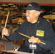 Drummer Harold Jones
